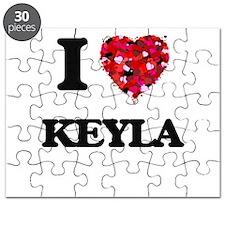 I Love Keyla Puzzle