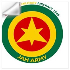Ethiopian Military Aircraft Insignia 1946 Wall Decal