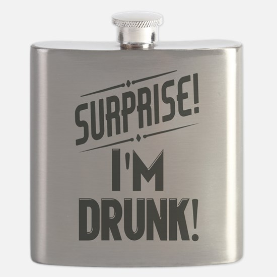 Surprise I'm DRUNK Flask