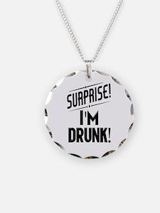 Surprise I'm DRUNK Necklace