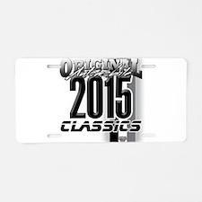 original 2015 Aluminum License Plate
