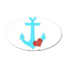 Anchored in the South Wall Decal