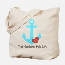 Anchored in the South Tote Bag