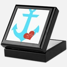 Anchored in the South Keepsake Box