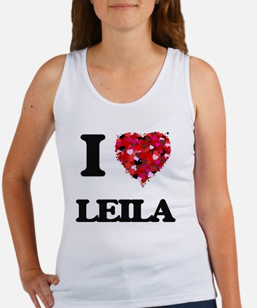 I Love Leila Tank Top