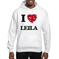 I Love Leila Jumper Hoody