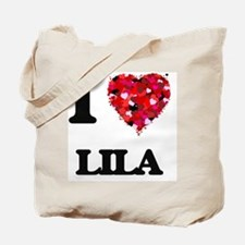I Love Lila Tote Bag