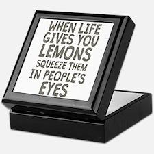 Life Gives You Lemons Keepsake Box