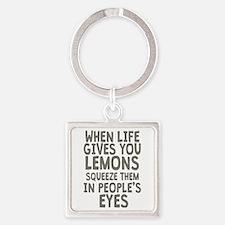 Life Gives You Lemons Keychains