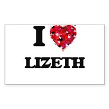 I Love Lizeth Decal