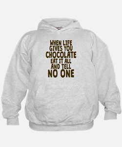 Life Gives You Chocolate Hoodie