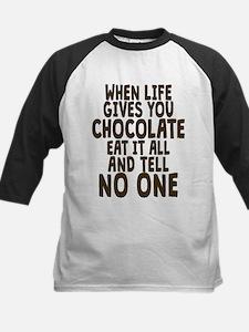 Life Gives You Chocolate Baseball Jersey