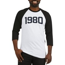 Birthday Born 1980 Baseball Jersey