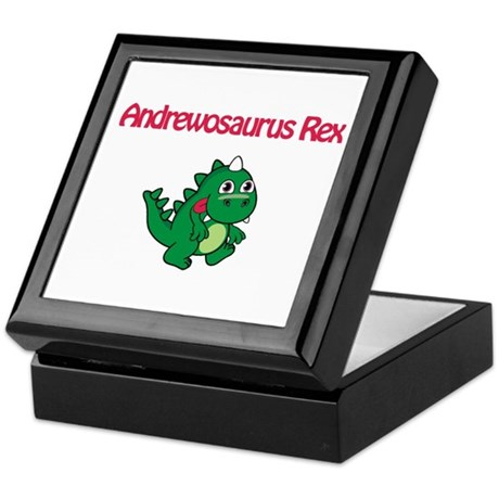 Andrewosaurus Rex Keepsake Box