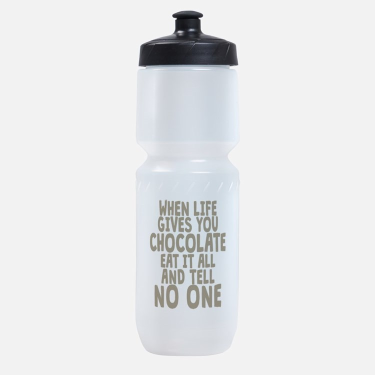 Life Gives You Chocolate Sports Bottle