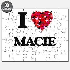 I Love Macie Puzzle