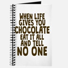 Life Gives You Chocolate Journal