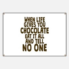Life Gives You Chocolate Banner