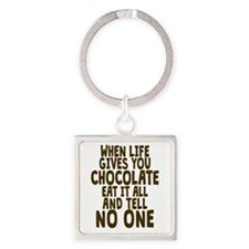 Life Gives You Chocolate Keychains