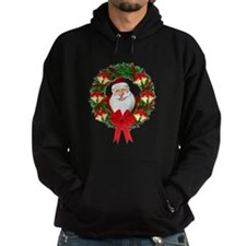 Santa Claus Wreath Hoody