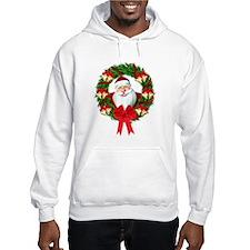 Santa Claus Wreath Hoodie