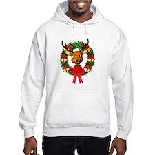 Rudolph the Red Nosed Reindeer W Jumper Hoody