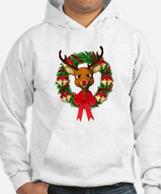 Rudolph the Red Nosed Reindeer W Jumper Hoody