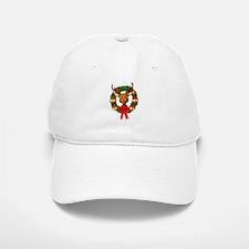 Rudolph the Red Nosed Reindeer Wreath Baseball Baseball Cap