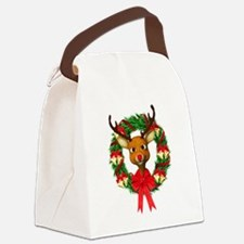 Rudolph the Red Nosed Reindeer Wr Canvas Lunch Bag