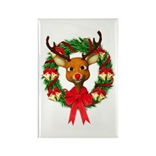 Rudolph the Red Nosed Reindeer Wr Rectangle Magnet