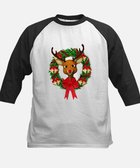 Rudolph the Red Nosed Reindee Kids Baseball Jersey