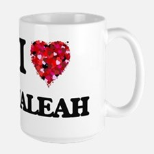 I Love Maleah Mugs