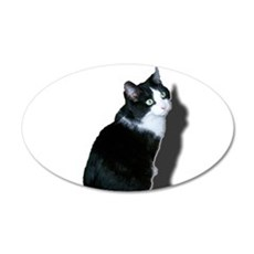 Black & white cat Decal Wall Sticker
