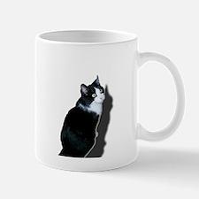 Black & white cat Mugs