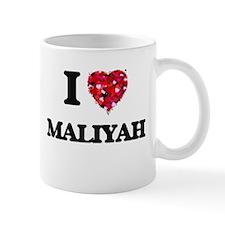 I Love Maliyah Mugs