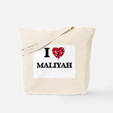 I Love Maliyah Tote Bag