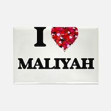 I Love Maliyah Magnets
