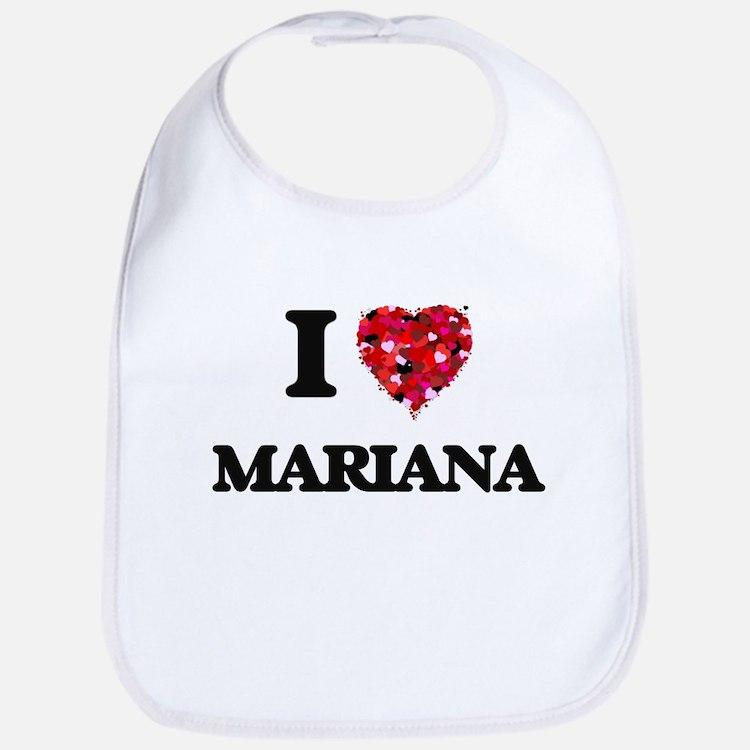 I Love Mariana Bib