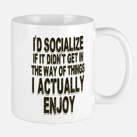Antisocial Humor Mugs