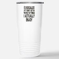 Antisocial Humor Stainless Steel Travel Mug