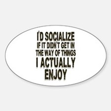 Antisocial Humor Decal