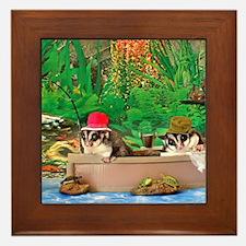 Fishing Framed Tile