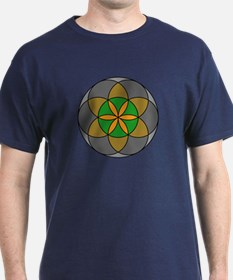 Seed of Life Earth4 T-Shirt