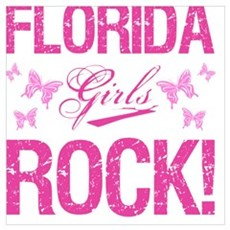 Florida Girls Rock Poster
