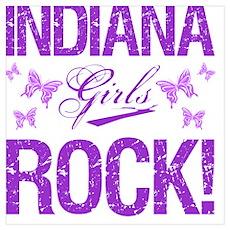 Indiana Girls Rock Poster