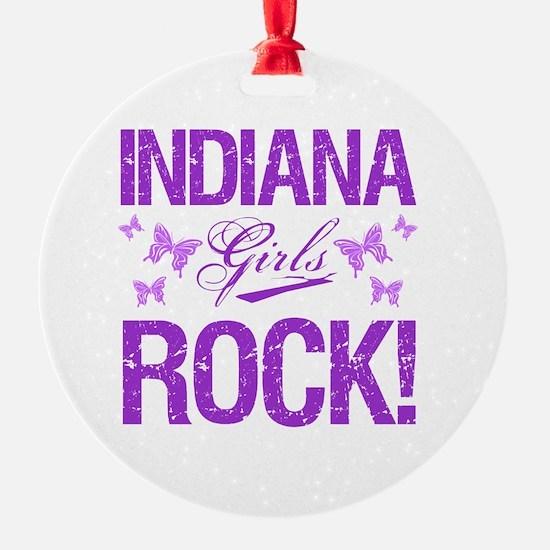 Indiana Girls Rock Ornament
