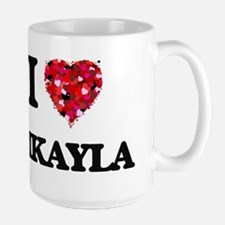 I Love Mikayla Mugs