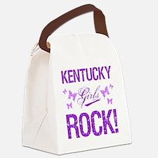 Kentucky Girls Rock Canvas Lunch Bag
