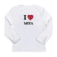 I Love Miya Long Sleeve T-Shirt