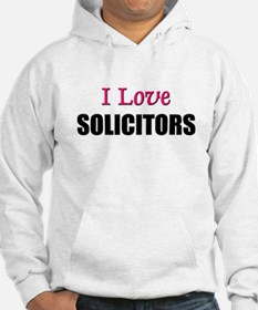 I Love SOLICITORS Hoodie